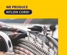 We start production of nylon cord.