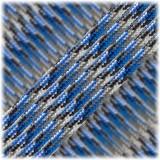 Paracord Type III 550, blue camo #035