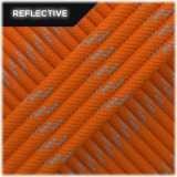 Paracord reflective, Orange yellow #R044