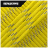 Paracord reflective, yellow #r3019
