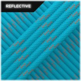 Paracord reflective, sky blue #r3024