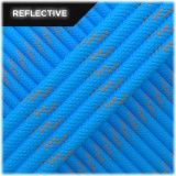 Paracord reflective, ocean blue #R337