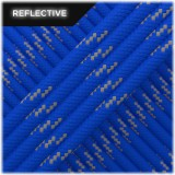 Paracord reflective, blue #R001