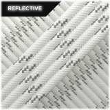 Paracord reflective, White #R007