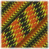 Paracord Type III 550, Yellow orange camo #383