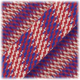 Paracord Type III 550, USA flag #398