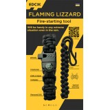 "Fire-starting tool ""Flaming Lizzard"", Black"