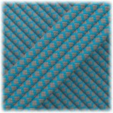 Paracord Type III 550, Dark grey Ice mint Snake #252