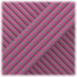 Paracord Type III 550, Dark grey Soft pink Snake #253