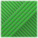 Paracord Type III 550, Dark grey Neon green Snake #254