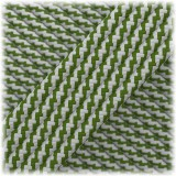Paracord Type III 550, Moss Silver grey Twist #181