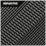 Super reflective paracord 50/50 , Black waves #016