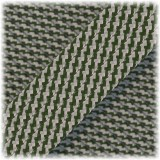 Paracord Type III 550, Moss silve twist #421