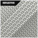 Super reflective paracord 50/50, White Matrix #RM007