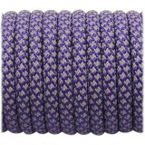 Super reflective paracord 50/50 , Purple Snake #026