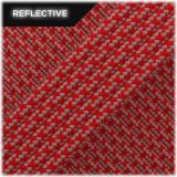 Super reflective paracord 50/50, Red Matrix #RM021