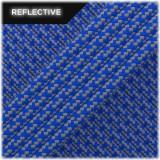 Super reflective paracord 50/50, Blue Matrix #RM001