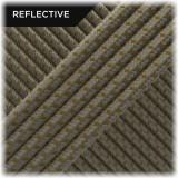 Super reflective paracord 50/50, Coyote brown Matrix #RM012