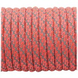 Super reflective paracord 50/50, Sofit Orange Matrix #345