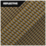 Super reflective paracord 50/50, Coyote brown Wave #RW012