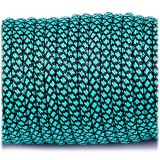 Paracord Type III 550, emerald green snake #265