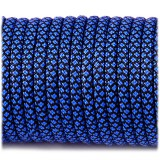 Paracord Type III 550, blue snake #268