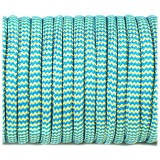 Paracord Type III 550, blue yellow wave #362