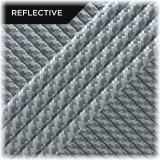 Super reflective paracord 50/50, White Twist #RT007