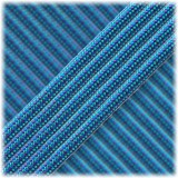 Paracord Type III 550 Blue Chameleon #438
