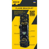 "Bracelet ""Double cobra"" Flame-Survival, Black"