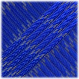 Reflective Paracord Type III 550 (PES) #6108 Blue