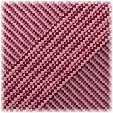 Paracord Type II 425 (PES) Pink Red Stripes