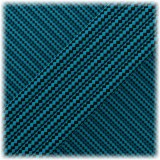 Paracord Type III 550, Ice mint Black Stripes