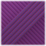 Paracord Type III 550, Blue Red Stripes #103