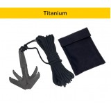 Titanium Grappling Hook EDCX