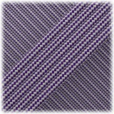 Paracord Type III 550, Purple Silver Stripes #224