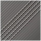 Microcord (1.2 mm), White Chocolate Stripes #137-175