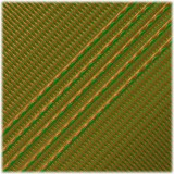 Microcord (1.2 mm), Neon green Apricot Stripes #140-175