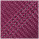 Microcord (1.2 mm), Neon pink Silver Stripes #220-175