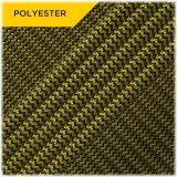 Paracord Type III 550 (PES) Black yellow wave #12047