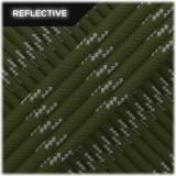 Paracord reflective, Khaki #R009