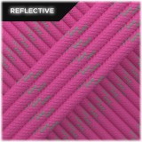Paracord reflective, Pink #R015