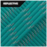Paracord reflective, Neon turqoise #R034
