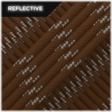 Paracord reflective, Chocolate #R178