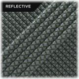 Super reflective paracord 50/50 , Khaki Snake #RS009