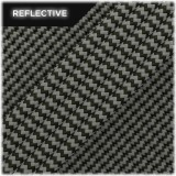 Super reflective paracord 50/50 , Army Green Wave #RW010