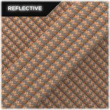 Super reflective paracord 50/50, Beige Wave #RW013