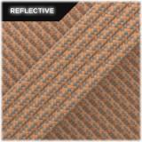 Super reflective paracord 50/50, Beige Matrix #RM013