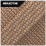 Super reflective paracord 50/50, Beige Snake #RS013