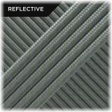 Super reflective paracord 50/50, Light Khaki Twist #RT014